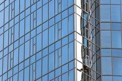 De wolkenkrabber van de architectuur Stock Foto's