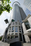 De Wolkenkrabber van Frankfurt royalty-vrije stock foto's