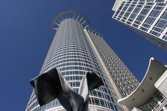 De wolkenkrabber van Frankfurt Stock Foto's