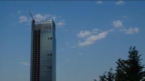 De wolkenkrabber van het Piemonte-Gebied stock footage
