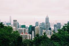 De Wolkenkrabber van Hongkong Royalty-vrije Stock Fotografie