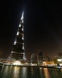 De wolkenkrabber van Khalifa van Burj stock afbeeldingen