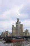 De wolkenkrabber van Moskou Royalty-vrije Stock Foto
