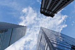 De wolkenkrabber van New York Stock Foto