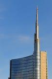 De wolkenkrabber van Nuova van Porta in Milaan Royalty-vrije Stock Foto's