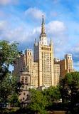 De wolkenkrabber van Stalin Royalty-vrije Stock Afbeelding
