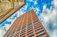 De Wolkenkrabbers van Boston Stock Fotografie