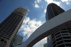 De Wolkenkrabbers van Brisbane Royalty-vrije Stock Afbeelding