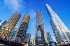 De Wolkenkrabbers van Chicago Royalty-vrije Stock Foto