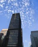 De wolkenkrabbers van de Stad van New York. Royalty-vrije Stock Foto