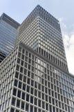 De wolkenkrabbers van de Stad van New York Stock Foto's