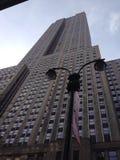 De wolkenkrabbers van de Stad van New York Stock Fotografie