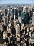 De Wolkenkrabbers van de Stad van New York Royalty-vrije Stock Foto