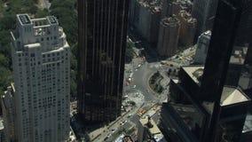 De wolkenkrabbers van de Stad van New York stock videobeelden