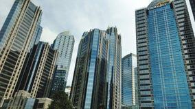 De wolkenkrabbers van Djakarta royalty-vrije stock foto
