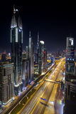 De wolkenkrabbers van Doubai Stock Fotografie