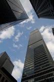 De Wolkenkrabbers van het bureau Stock Fotografie