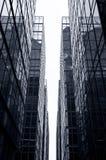 De Wolkenkrabbers van het Bureau van het glas, Hongkong stock foto's