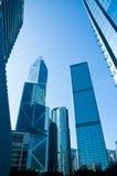 De Wolkenkrabbers van Hong Kong Stock Afbeelding