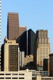 De Wolkenkrabbers van Houston royalty-vrije stock afbeelding