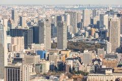 De wolkenkrabbers van Japan stock fotografie