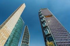 De wolkenkrabbers van Mexico-City Stock Afbeeldingen