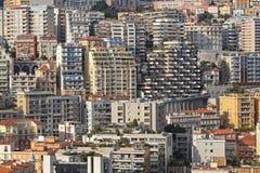 De Wolkenkrabbers van Monaco Stock Afbeelding