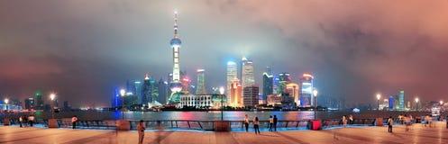 De wolkenkrabbers van Shanghai Royalty-vrije Stock Afbeelding