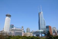De wolkenkrabbers van Shanghai Lujiazui CBD Royalty-vrije Stock Fotografie