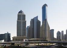 De wolkenkrabbers van Shanghai Lujiazui CBD Moderne wolkenkrabbers in Shanghai van de binnenstad Royalty-vrije Stock Fotografie