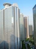 De Wolkenkrabbers van Shinjuku Stock Afbeeldingen