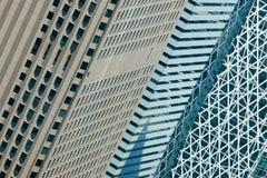 De wolkenkrabbers van Shinjuku. Tokyo, Japan. Stock Fotografie