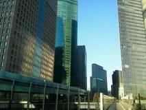 De wolkenkrabbers van Shiodome Tokyo Stock Foto's