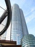 De Wolkenkrabbers van Tokyo stock fotografie