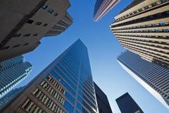 De wolkenkrabbers van Toronto royalty-vrije stock afbeelding