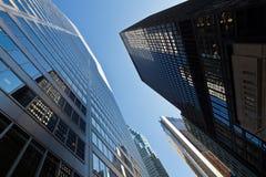 De wolkenkrabbers van Toronto stock fotografie