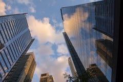 De Wolkenkrabbers van Toronto Stock Foto's