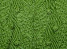 De wollen stof van de textuur Stock Afbeelding