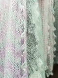 De wolsjaal van doekvrouwen Royalty-vrije Stock Afbeelding