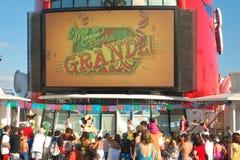 De Wonder van Disney partij van Grande van de Fiesta Stock Afbeeldingen