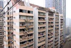 De woningbouw van Chongqing Royalty-vrije Stock Afbeeldingen