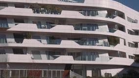 De woningbouw van Milan City Life stock video