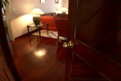 De woonkamer van de hotelreeks stock video