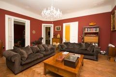De woonkamer van de luxe Stock Afbeelding