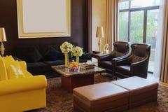 De woonkamer van de luxe Royalty-vrije Stock Foto's