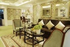 De woonkamer van de luxe Stock Foto's