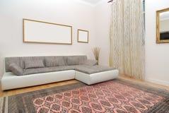 De woonkamer van de luxe Royalty-vrije Stock Afbeeldingen