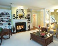 De woonkamer van de luxe stock foto