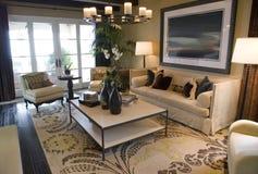 De woonkamer van de luxe Stock Afbeeldingen