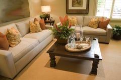 De woonkamer van de luxe royalty-vrije stock fotografie